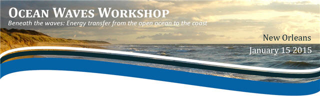 Ocean Waves Workshop 2015