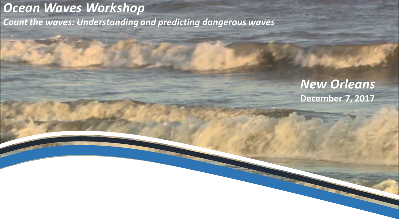 Ocean Waves Workshop 2017